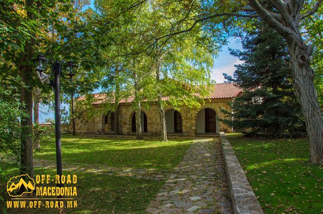 Veljusa Monastery near Strumica, Macedonia