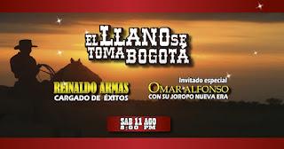 El llano se toma Bogotá : Reinaldo Armas y Omar Alfonso 1