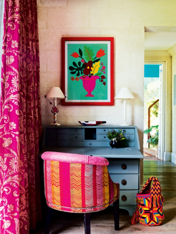 Kit Kemp's colourful home