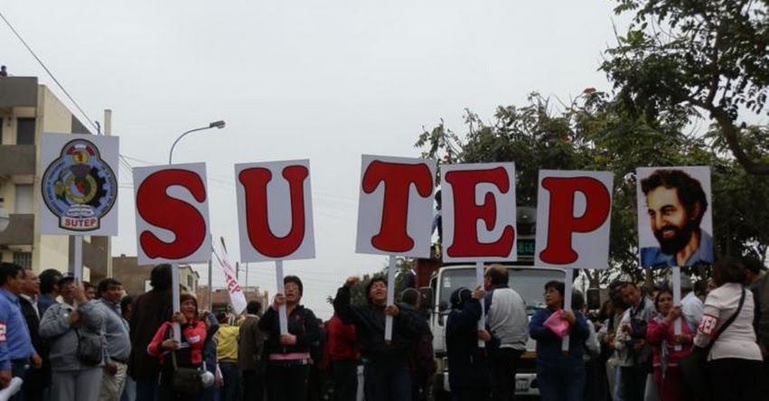 Declaran ilegal paro de 24 horas convocado por el SUTEP para el jueves 13 de julio