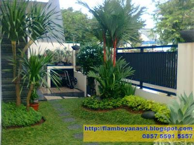 Tukang Taman Surabaya Taman Minimalis Kombinasi Bambu Jepang