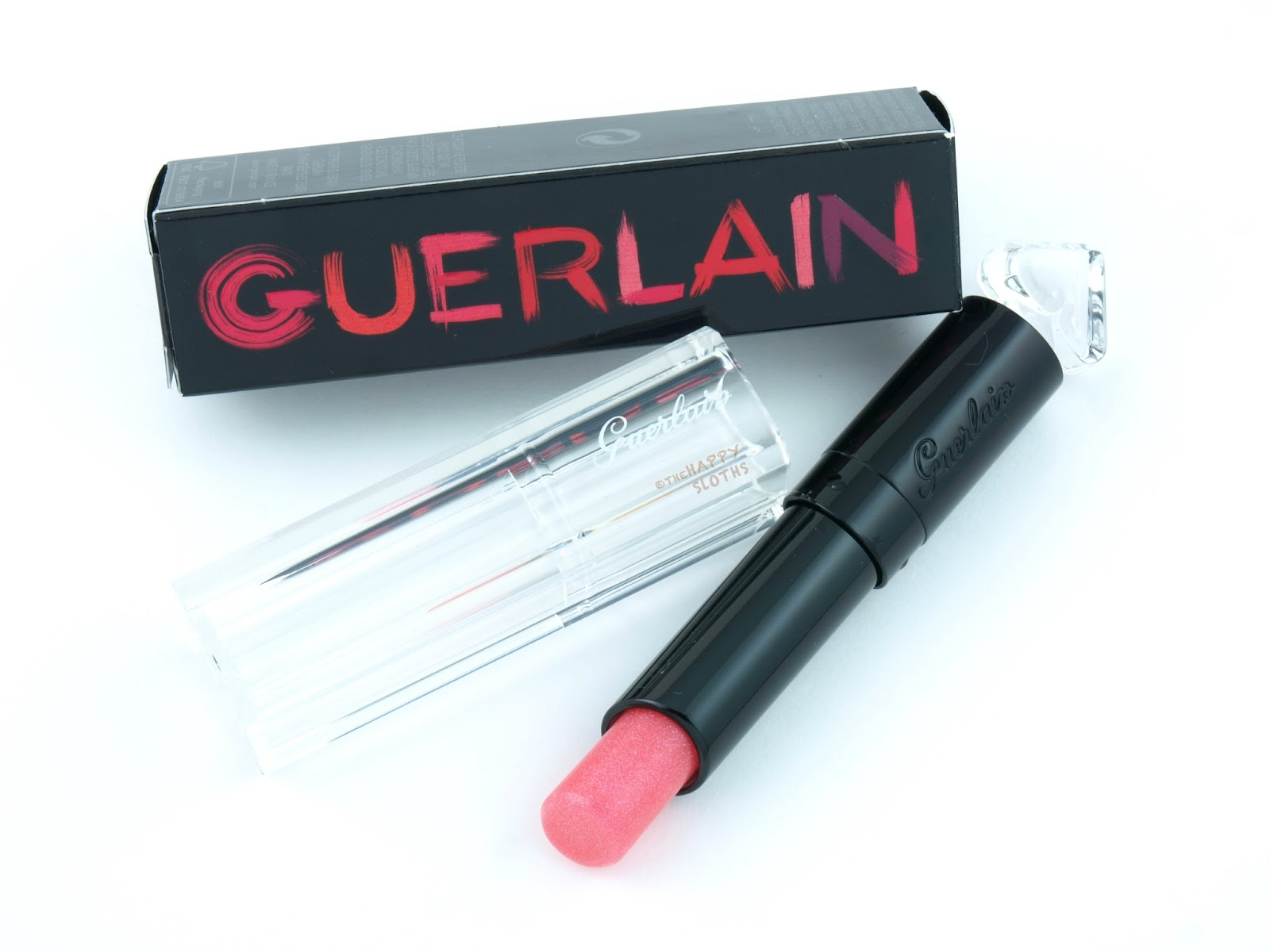 Guerlain La Petite Robe Noire Deliciously Shiny Lip Color -7733