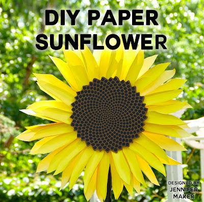 paper sunflower