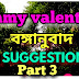 QUESTION SITE|| MCQ +TRANSCRIPTION SUGGESTION || JIMMY VALENTINE ||PART 3