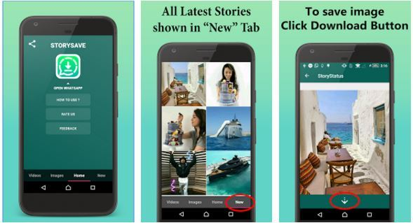 How To save WhatsApp Video Status And Images To Phones