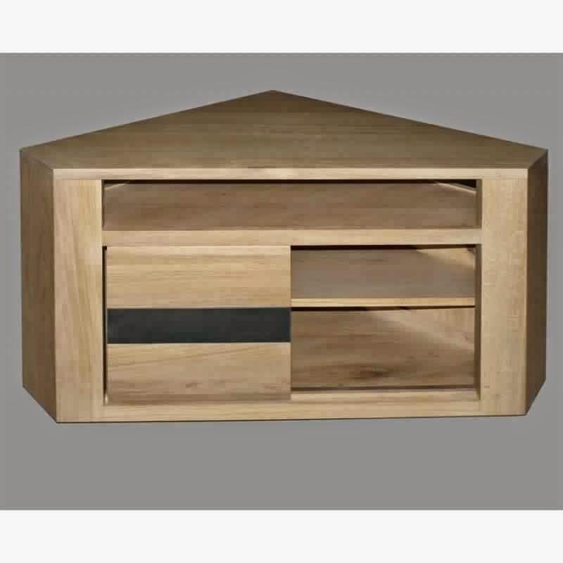 meuble tv d angle noir. Black Bedroom Furniture Sets. Home Design Ideas