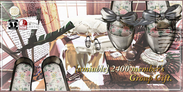 {amiable}2400 member's Group Gift.