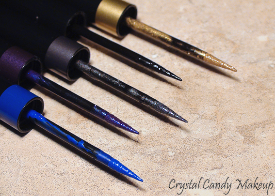 Eyeliner précision couleur intense Artliner 24h de Lancôme - Sapphire - Amethyst - Chrome - Gold - Black Diamond