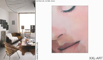 Berlin-Kunst, moderne Malerei in 2 Kunstgalerien Berlin