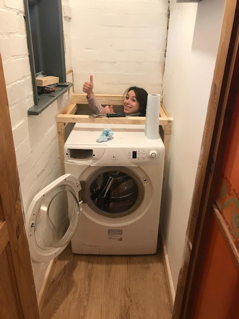 plumbing in a washing machine DIY