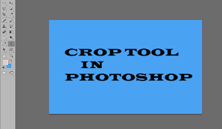 CROP TOOL PHOTOSHOP