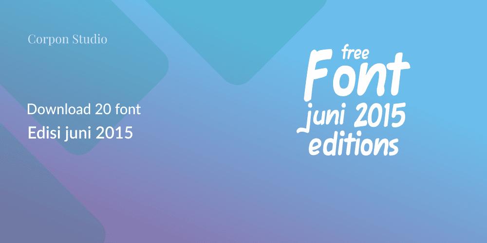 Download Font Gratis Terbaik 2015 - Bobbie Modern Typeface