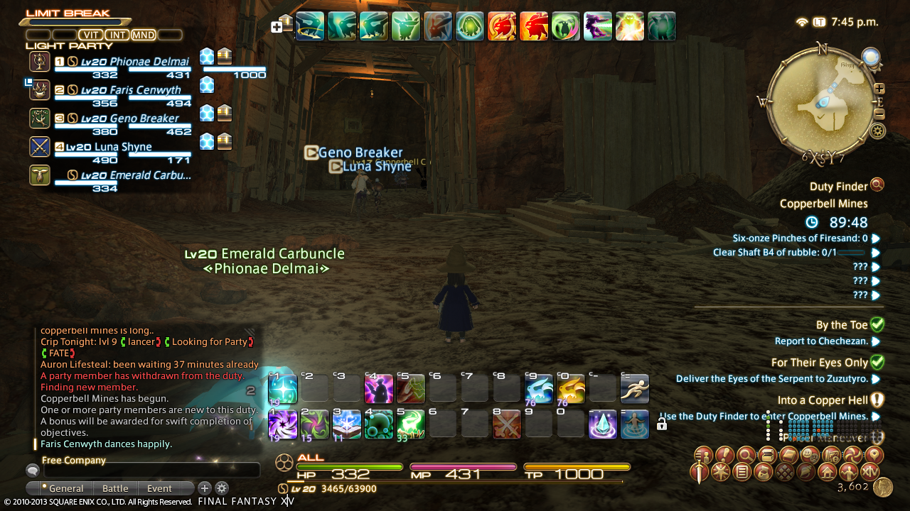 FFXIV: Dungeon Guide III - Copperbell Mines | toomanyrifts