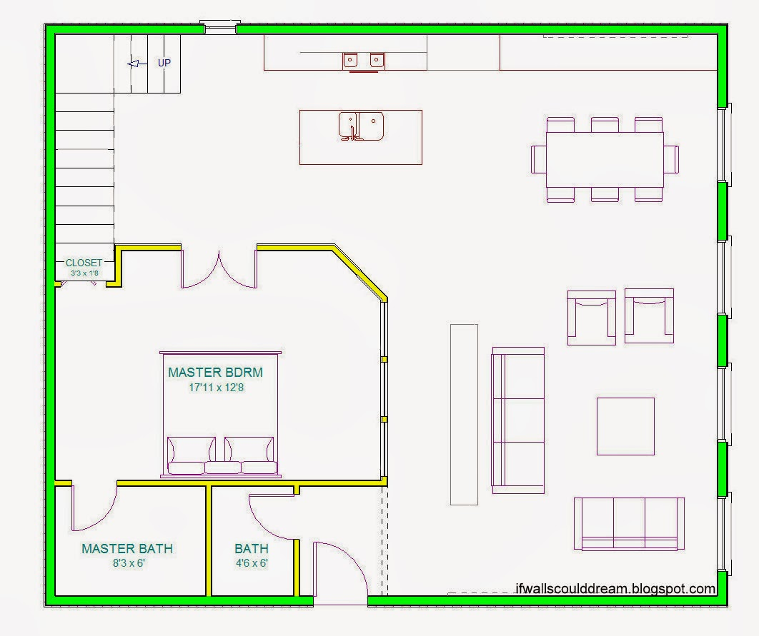 hight resolution of when you first enter the apartment you re steered either towards the living room or towards the dining room and kitchen by a large double sided bookcase