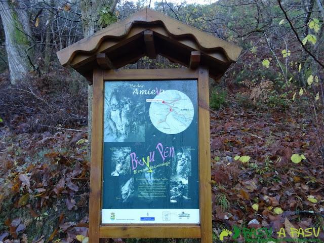 Cartel Ruta Beyu Pen en Asturias