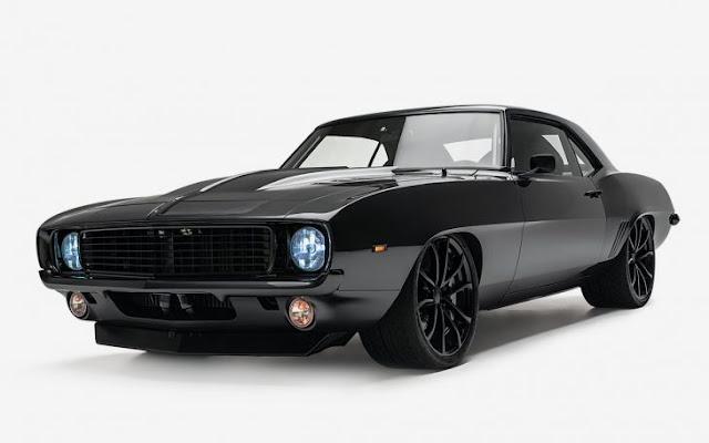 Nunca el negro se sintió tan negro: Turbo 750-HP '69 Camaro