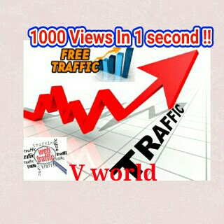FREE Traffic: How To Get Unlimited Views In Your Blog or website ??? Auto views Trick