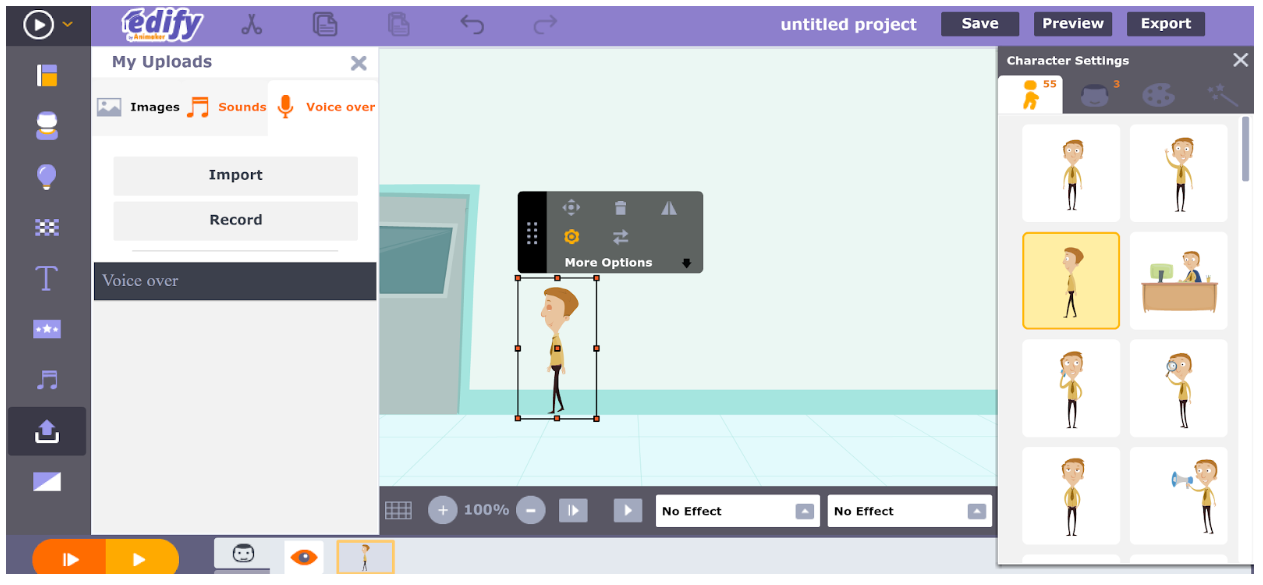 Free Technology For Teachers Animaker Edify Easily Create Animated Videos In An Online Classroom