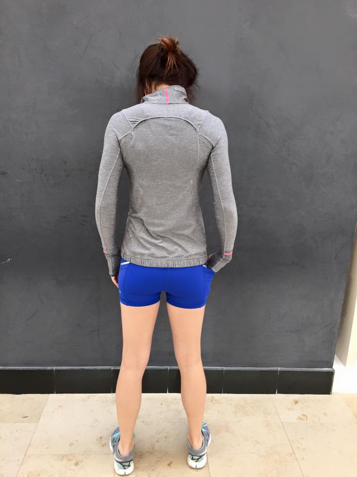 lululemon what-the-sport-short pace-pusher-half-zip