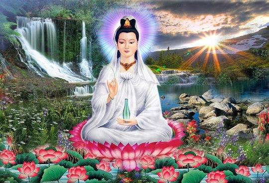 Hướng dẫn làm lễ cúng Quan Âm Bồ Tát cầu bình an