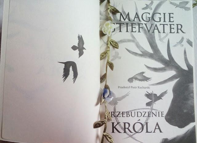 """""""Przebudzenie króla"""" Maggie Stiefvater"""