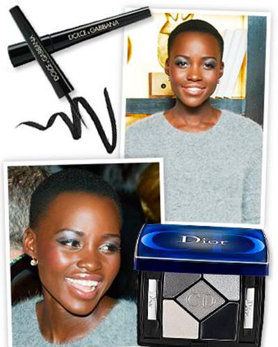 Foto 2 - inspiração maquiagem prata na pele negra