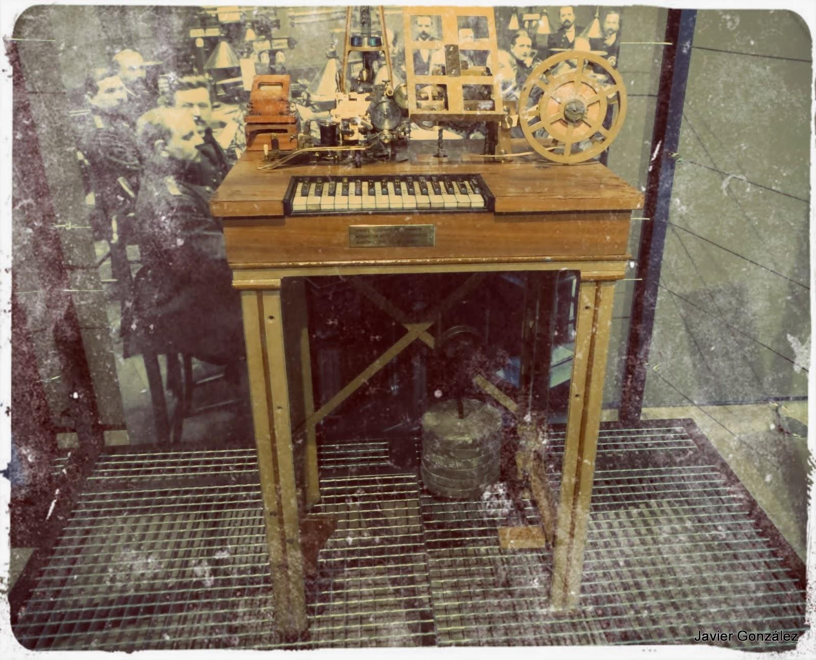1855 - Telégrafo de impresión directa 1855 - Direct Printing Telegraph