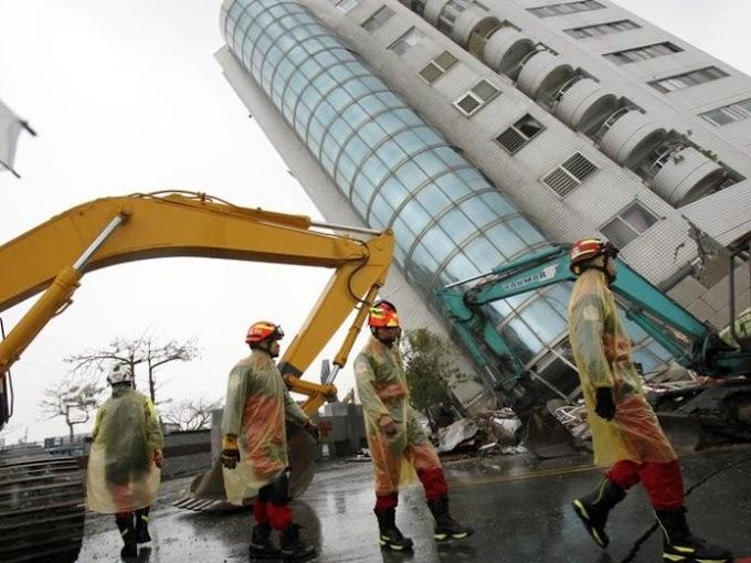 Detenido constructor de edificio caído por sismo