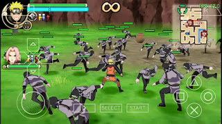 Game PPSSPP Terbaru Mod Texture Naruto senki ultimate style (NSUNI)