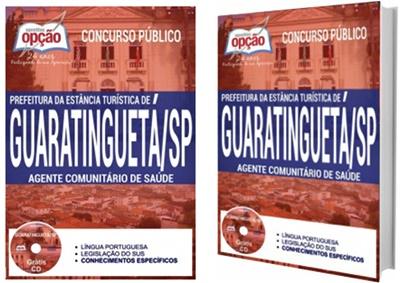 Apostila concurso Prefeitura de Guaratinguetá 2017