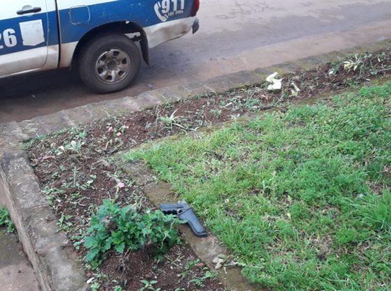POSADAS : La Policía secuestró un arma de fuego hallado en la vía pública