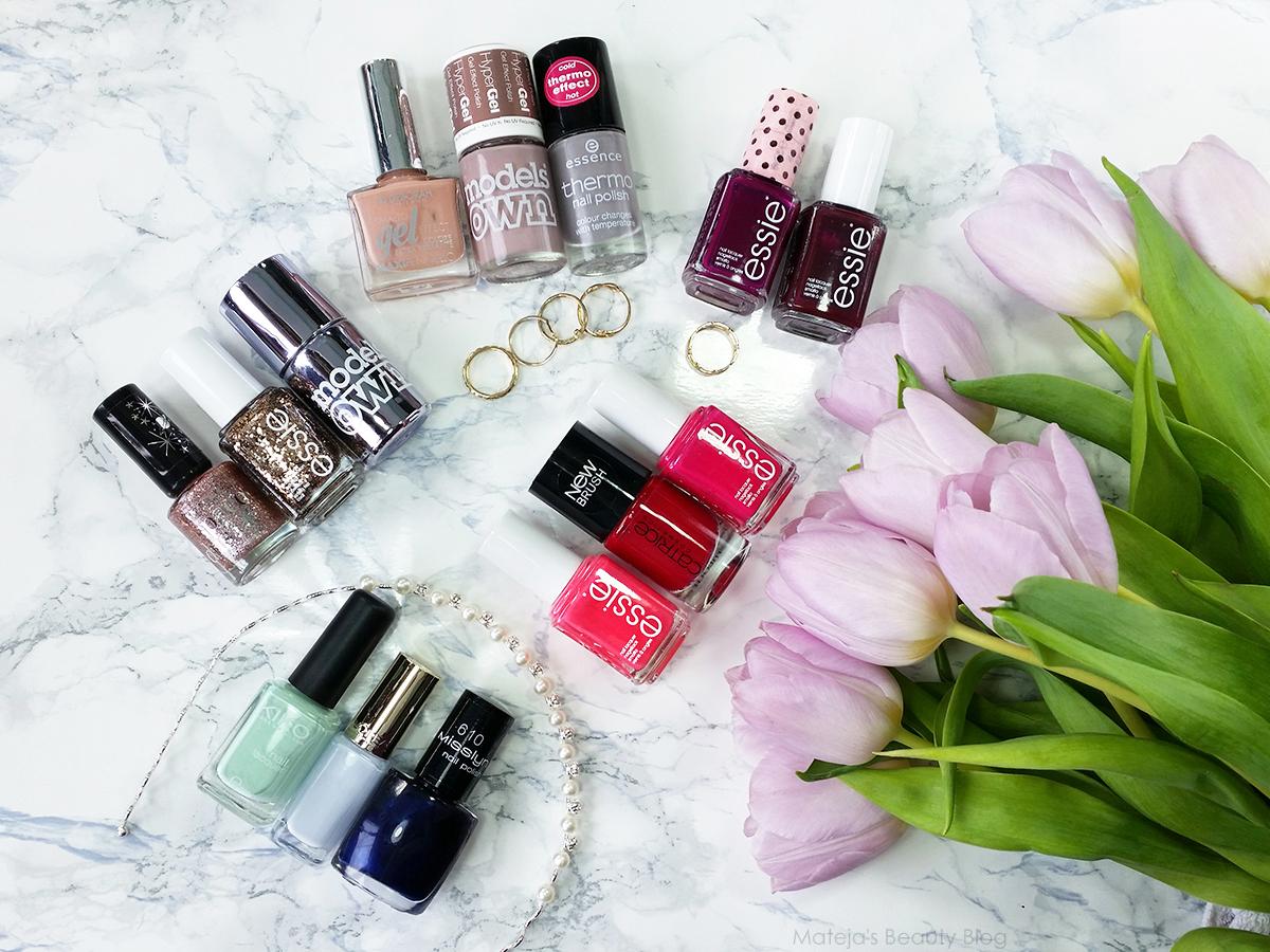 My Favourite Nail Polishes - Mateja\'s Beauty Blog