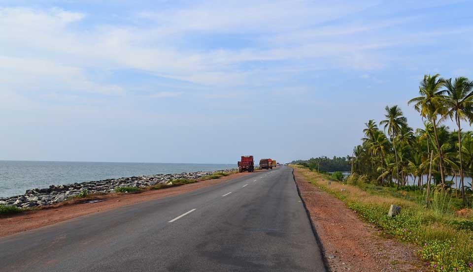 India's Most Beautiful Beach Roads National Highway 17, Maravanthe