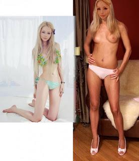 Valeria Lukyanova nude