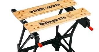 Black Amp Decker Power Tool Wm225 Jpr 200 Kg Capacity Workmate