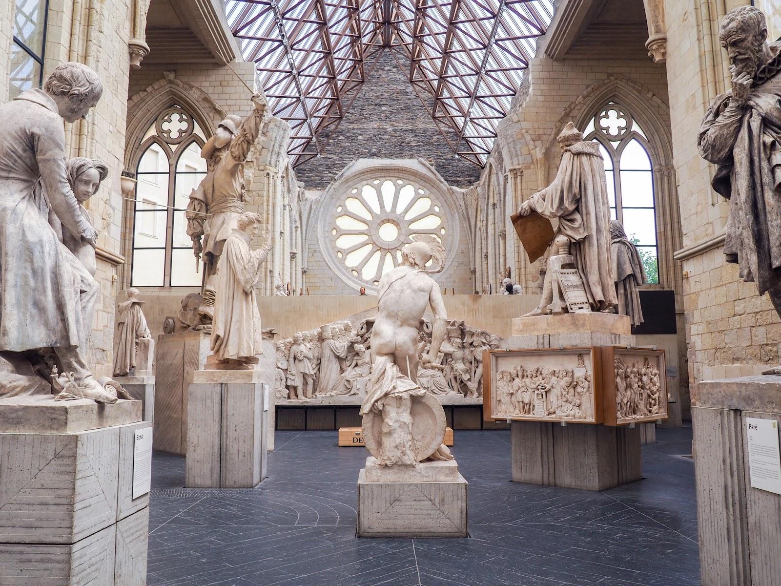 Que voir à Angers, galerie david d'angers