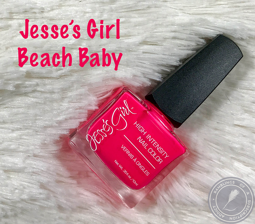Jesse\'s Girl - Beach Baby Review | Swatch My Stash | Ramblings of a ...
