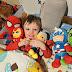 Our budding superhero and DisneyLife