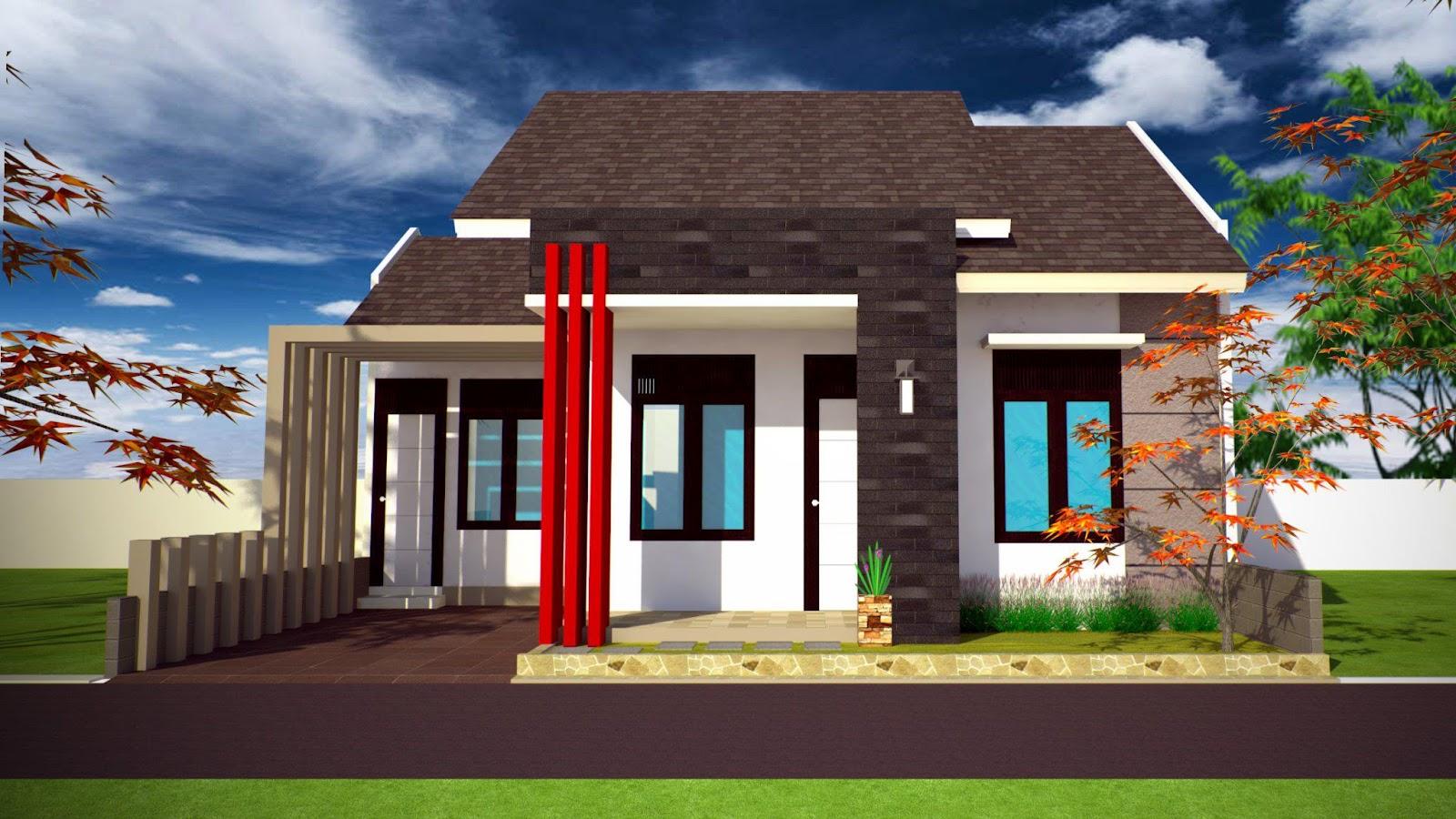 Rumah Modern Tampak Depan