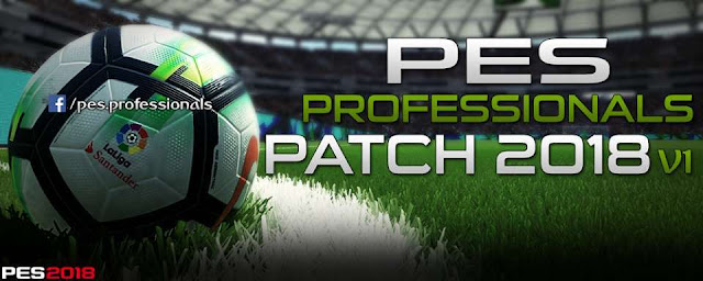 PES Professionals Patch PES 2018