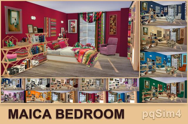 Detalle dormitorio Maica