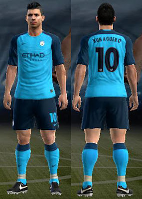 Man City Home Kit 16/17 by Arfiands