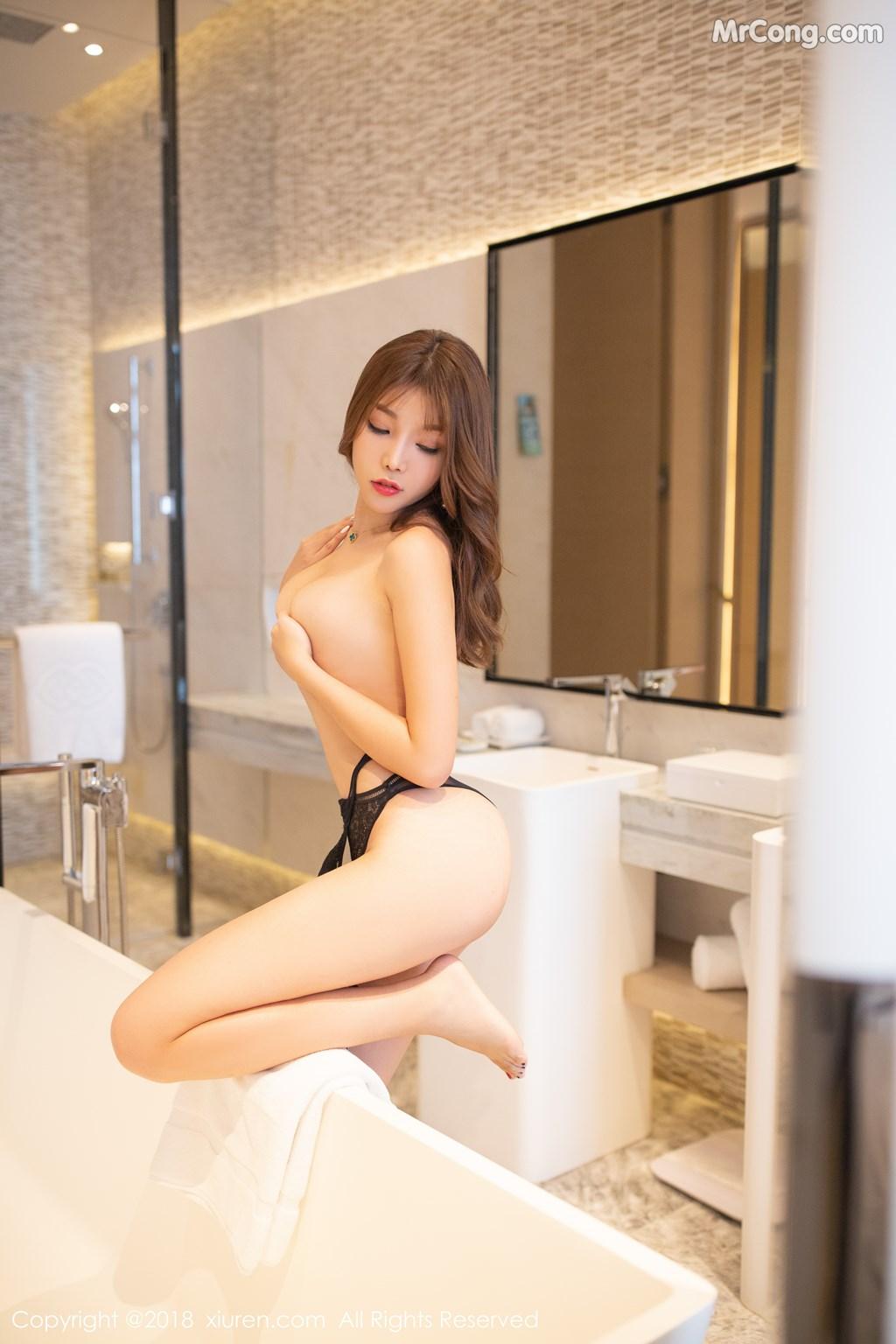 Image XIUREN-No.1278-Booty-Zhizhi-MrCong.com-001 in post XIUREN No.1278: Người mẫu Booty (44 ảnh)