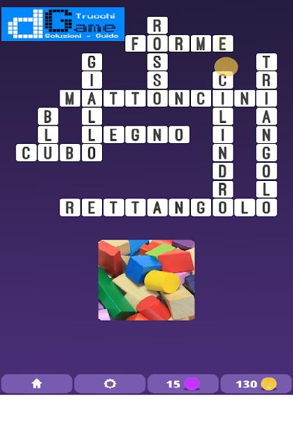 Soluzioni One Clue Crossword livello 4 schemi 13 (Cruciverba illustrato)  | Parole e foto