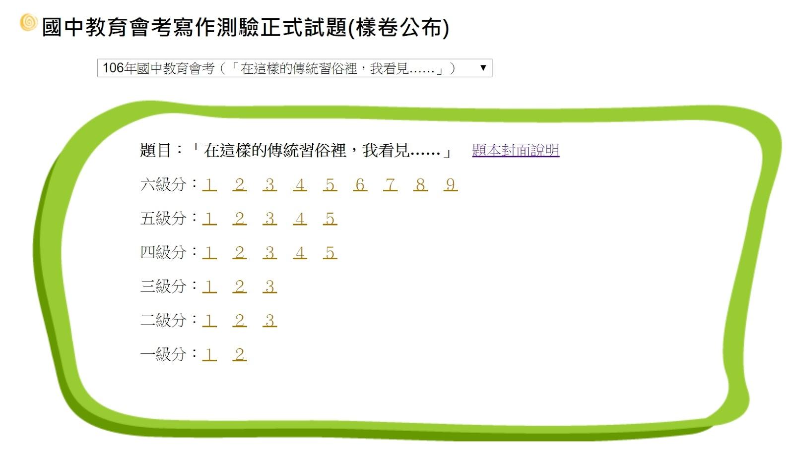 教育現場 吳寧國文講堂: 寫作第二步(國中會考)