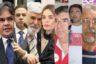 Pesquisa Ibope para senado da Paraíba: Veneziano, 37%; Cássio, 34%; Luiz Couto, 32%, Daniella 30%