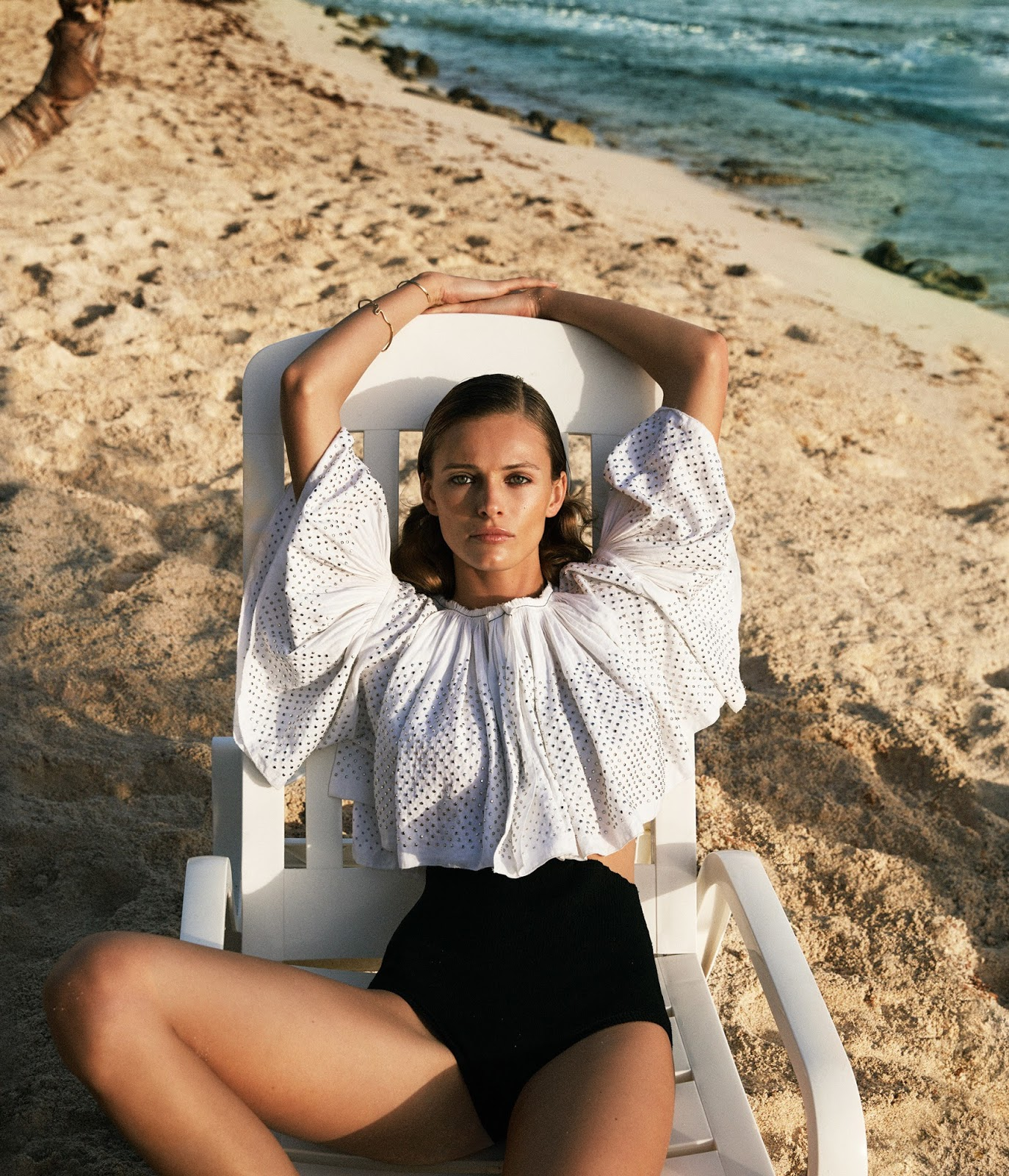 Edita Vilkeviciute by Cass Bird for WSJ Magazine April 2016