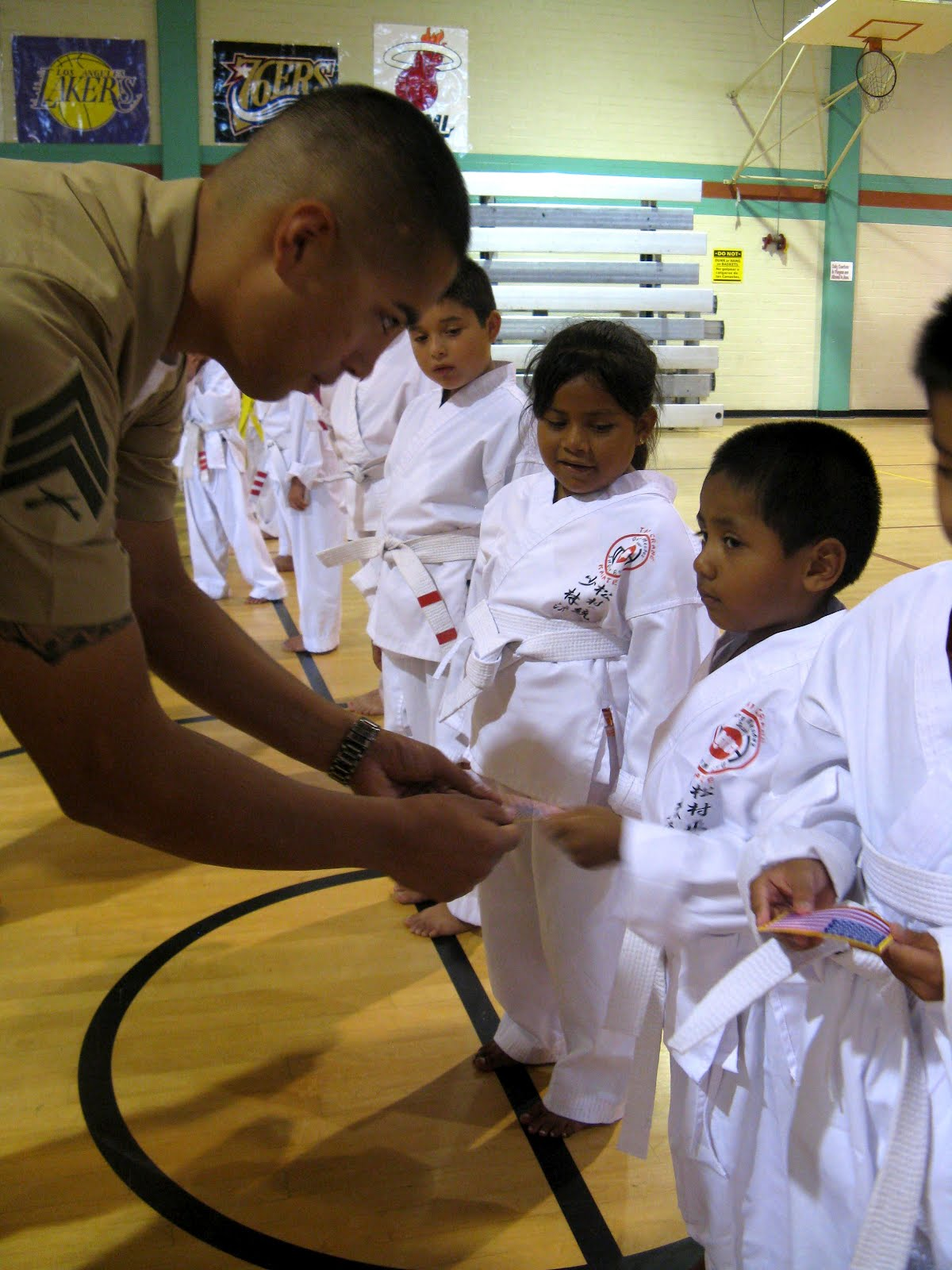 American Cadre Karate School Patches Wwwmiifotoscom