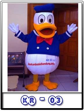 Kostum Badut Lucu Donald Duck Kr-03