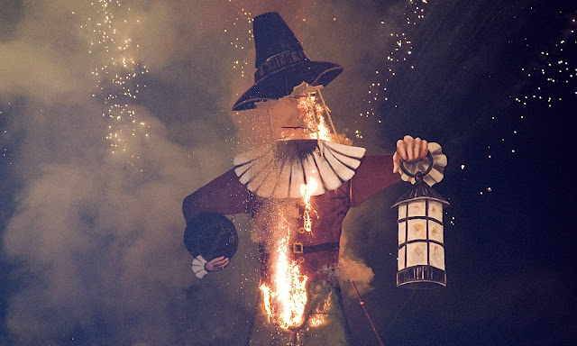 Cosa fare gratis in Inghilterra: bonfire night